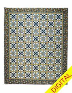 Lake Itasca Digital Quilt Pattern