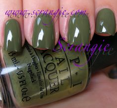 """OPI """"Touring America Collection"""" - Uh-Oh Roll Down The Window (Fall 2011)"""
