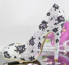 design your own shoes Leopard print sexy ultra high heels closed toe platform  wedding shoes  168.30 4120bb519cfa