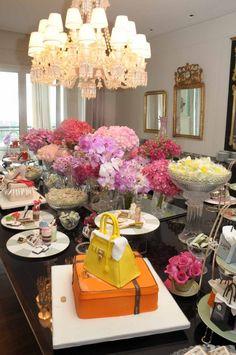 Giu Ranieri e a Decoração de Chá de Cozinha… | Noivinhas de Luxo