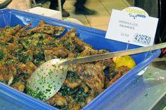 Frog's Legs, Les Halles Paul Bocuse http://destinationfiction.blogspot.ca/2013/02/lyon-silk-and-gastronomy.html