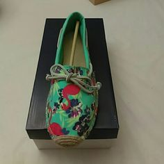 Katama Turq floral Multi color flats Sperry Top-Sider Shoes Flats & Loafers