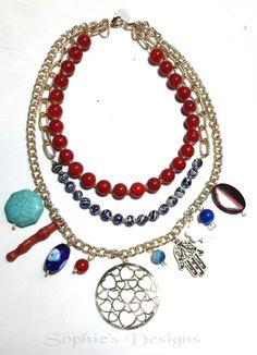 #sophiesdesings #venezuelacreativa #handmade #fashion #madeinvenezuela #megustalochic #hechoenvenezuela #design #worlwideshop #vitrinahechoenvenezuela #yousodiseñovenezolano #handmade #hechoamano #talentonacional #colores #estilo #moda #modachic #instadesigns #girls #necklaces #máxicollar