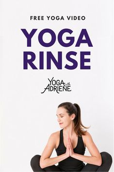 Yoga Rinse invites you to the mat to wash away the day or welcome a fresh outlook. This is a great 15 min yoga practice to begin anew! Use it to return to th. Bikram Yoga, Yin Yoga, Yoga Meditation, Namaste Yoga, Pranayama, Bob Marley, Free Yoga Videos, Yoga With Adriene, Yoga For Weight Loss