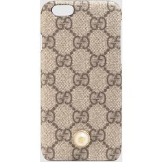 ee2ce04ca32c87 Gucci Iphone 6 Case With Pearl Stud (€190) ❤ liked on Polyvore featuring  accessories