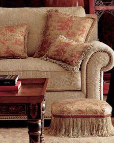 Decorate With Furniture Trimmed In Bullion Fringe Furniture Trim
