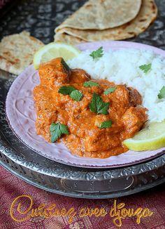 Recette butter chicken indien