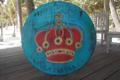 Amazing new table artwork for the restaurant by Enrique Diaz Tulum Hotels, Restaurant Bar, Real Weddings, Amazing, Board, Artwork, Table, Crowns, Work Of Art