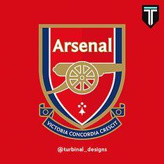 Arsenal Badge, Arsenal Fc, Arsenal Football, Football Logo Design, Football Art, European Football, Soccer, College Basketball, Sport