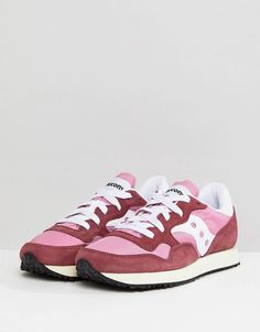 wholesale dealer 539ef 5dd65 Saucony – Dxn Vintage – Röda och rosa sneakers. MAJA · Skor