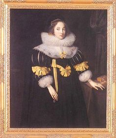 1631 Lady Anne Ruhout by Marcus Gheeraerts the Younger