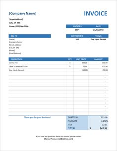 create invoice free online Simple Invoice Template for Excel Microsoft Excel, Microsoft Word Invoice Template, Freelance Invoice Template, Invoice Format In Excel, Invoice Layout, Printable Invoice, Invoice Example, Microsoft Office, Accounting