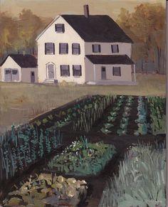 Love Jeremy Miranda's new painting, 'Crops'.