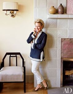 Bette Midler photographed for June, 2014, Architectural Digest.