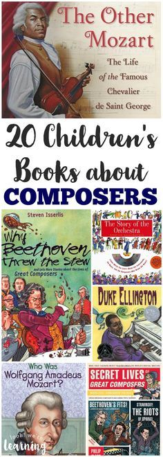 Learn about music history as a family with these gorgeous children's books about composers! #homeschooling #readinglist