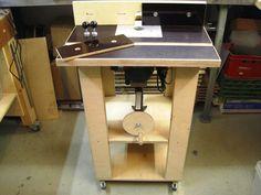 Basti´s Holzpage: Tischfräse Eigenbau