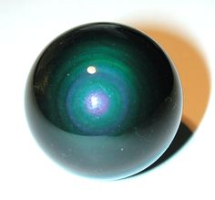 Pieces Of The Rock Sphere | RAINBOW OBSIDIAN SPHERE
