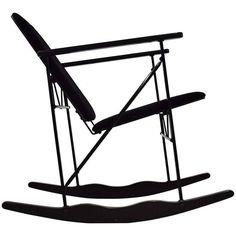 Experiment Rocking Chair by Yrjö Kukkapuro for Avarte, 1984 on DECASO.com