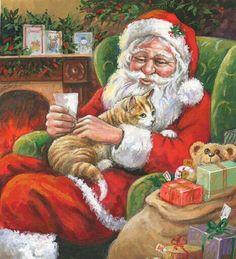 christmasillustr.quenalbertini: Jim Mitchell Art