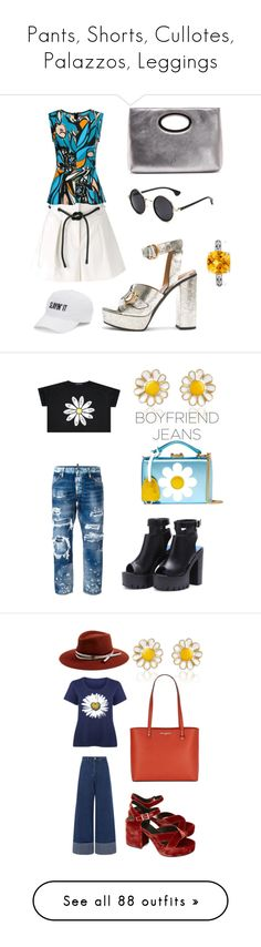 """Pants, Shorts, Cullotes, Palazzos, Leggings"" by aqualyra ❤ liked on Polyvore featuring pants, 3.1 Phillip Lim, Donald J Pliner, Chloé, SO, Effy Jewelry, Graphic, Mark Cross, Dsquared2 and AZ Collection"