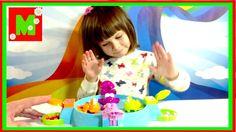 Развлекательная Детская настольная игра голодные лягушки Видео с игрушка...
