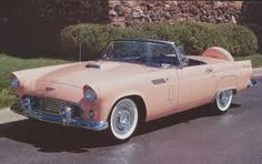 1956 Thunderbird. If I could have any car in the world, this would be it.