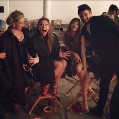 A Behind The Scenes photo from a recent episode! From the creator of Sex and the City, watch the show that has critics and fans addicted. Younger stars Hilary Duff, Sutton Foster, Nico Tortorella and Debi Mazar. New episodes Wednesdays at 10/9C on TV Land. Click here to watch a full episode!