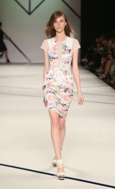Mercedes-Benz Fashion Week Australia : 2013 S/S Ginger And Smart, Latest Video, Pretty Little, Peplum Dress, Mercedes Benz, Photo And Video, Inspiration, Outfits, Clothes