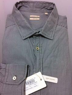 MASSIMO ALBA Italy urban legend beautiful informal Shirt L/52/42 fit~41 NWT$395  #MassimoAlba #ButtonFront