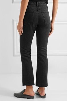 Free Shipping Really Original For Sale Helmut Lang cropped straight-fit trousers 9FTi1