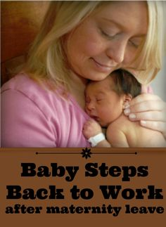 Helpful tips from a working mom life coach to ensure a seamless transition out of work and a smooth ride back into work after maternity leave.