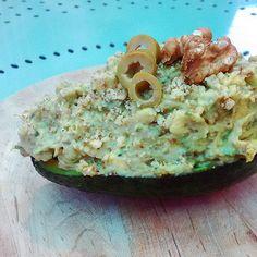 Avocado e zucchine con panna vegetale #ricette #estate #recipe