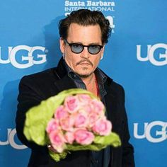 Thanks for the flowers Johnny Depp ♡