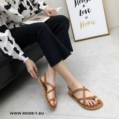 735470aef5fe7 Riemchensandalen in Braun  riemchen  sommer  sandalen  in  braun  damen