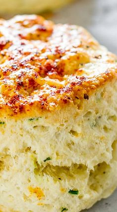 Feta Cheese and Chives Biscuits