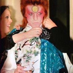 David Bowie on his Ziggy Stardust Tour Stone Age Man, Ziggy Played Guitar, Bowie Starman, Pretty Star, Soundtrack To My Life, Ziggy Stardust, Miles Davis, David Bowie, Rolling Stones