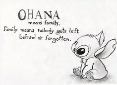 Ohana Means Family Quote Picture pics for lilo and stitch quotes this is my family best Ohana Means Family Quote. Here is Ohana Means Family Quote Picture for you. Ohana Means Family Quote stitch ohana means family quote blue greeting car. Best Family Quotes, Great Quotes, Inspirational Quotes, Family Sayings, Disney Quotes About Family, Tattoo Quotes About Family, Cute Family Quotes, Strong Family Quotes, Family Quote Tattoos