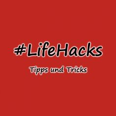 Diese Tipps und Tricks solltet ihr euch unbed… Part 7 of the practical life hacks! These tips and tricks you should absolutely look at … Lifehacks, Designs To Draw, Drawing Designs, Practical Life, Blog, Easy, Tips, How To Make, Gadgets
