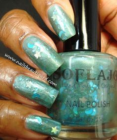 SOFLAJO Teal Me A Bedtime Story | Nails Beautiqued