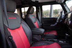 2015 Stock Jeep Wrangler Rubicon Unlimited Black Interior pic. #funrides #4x4