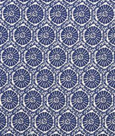 Covington Seabreeze Indigo - onlinefabricstore.com