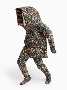 ART OF BRICOLAGE: BRICOLAGE: Art With Dimensional Materials - Nick Cave