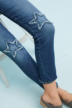 Slide View: 3: McGuire Vintage Stars Mid-Rise Cropped Jeans