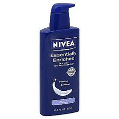 """Diane Kruger's Beauty Must-Haves: Nivea Essentially Enriched Daily Lotion. Another pinner wrote """"I like this lotion. Works well and leaves a pretty sheen on my skin but not greasy!""""  http://www.makeupalley.com/product/showreview.asp/ItemId=108980/Essentially-Enriched-Daily-Lotion-for-Very-Dry,-Rough-Skin/Nivea/Lotions/-Creams. http://www.ulta.com/ulta/browse/productDetail.jsp?productId=xlsImpprod5540059"""