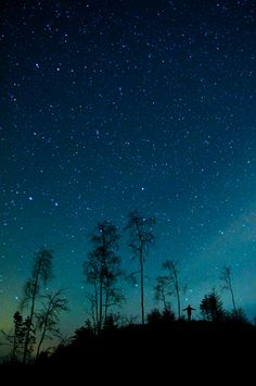 Alone with the stars …