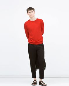 ZARA - MAN - Cropped trousers