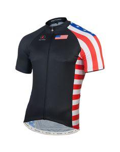 U.S.A. Cycling Jersey Men's | Premium Cycling Apparel | Pactimo