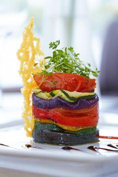 Beautiful food presentation!