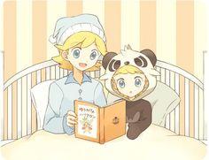 Clemont and Bonnie ^^♡