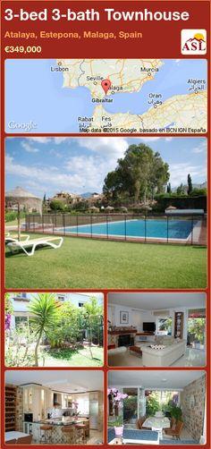 3-bed 3-bath Townhouse in Atalaya, Estepona, Malaga, Spain ►€349,000 #PropertyForSaleInSpain